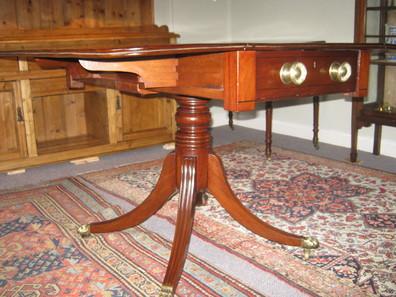 Regency mahogany Pembroke sofa table