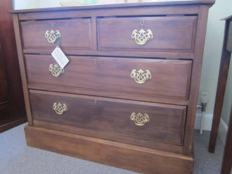 Antique Victorian provincial chest of drawers